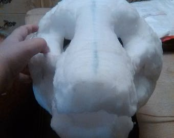 custom fursuit head foam base