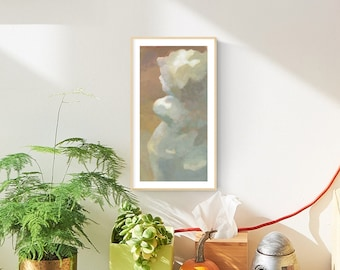 Cupid Statue, Printable Wall Art, Instant Download, Classic  Painting, Realism Art