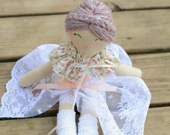 Ballerina doll.  Dancer doll. Pretty doll. Collectible doll.  Girls gift. Ballet doll. Art doll. Interior doll.