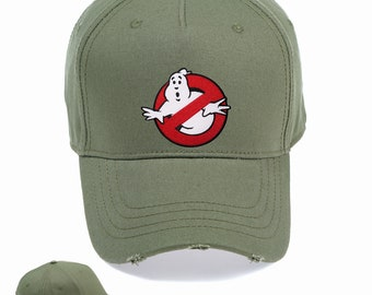 c6dc616fcaa Ghostbusters Vintage Snapback Embroidered Weathered Rapper Caps- Hip-hop  Hats Ideal gift Birthday present