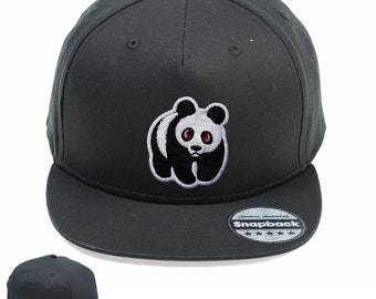 Panda Vintage Snapback Embroidered Weathered Rapper Caps- Hip-hop Hats  Ideal gift Birthday present 78e9aad573b