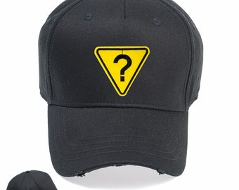 d8a031bda7d Question Mark Vintage Snapback Embroidered Weathered Rapper Caps- Hip-hop  Hats Ideal gift Birthday present
