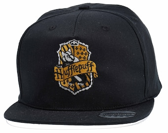 b6acb0bad0200 Cool Hufflepuff snapback Fashion Embroidered Rapper Caps- Hip-hop Hats  Ideal gift Birthday present