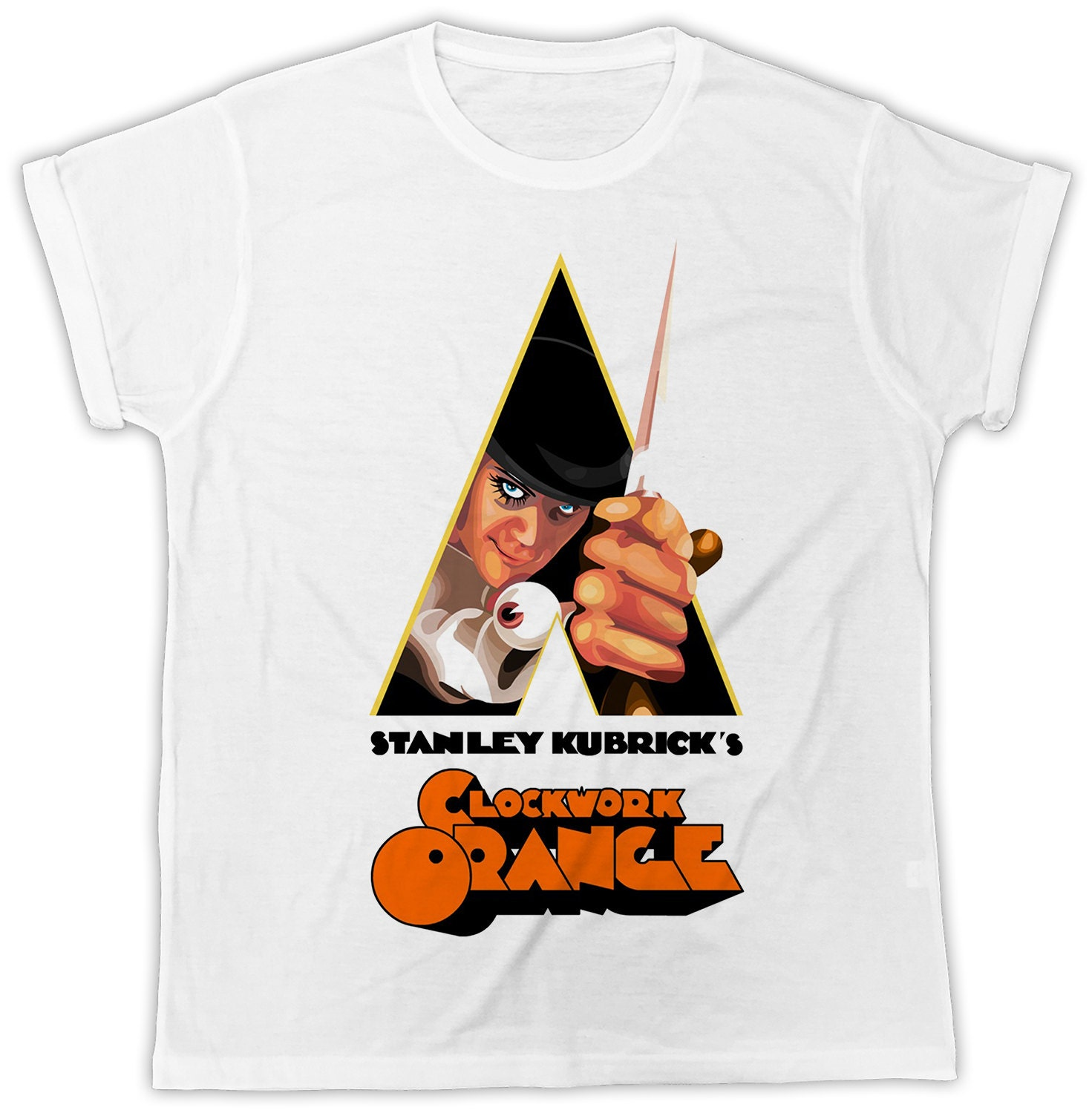CLOCKWORK ORANGE MOVIE POSTER COOL SHOPPING CANVAS TOTE BAG IDEAL GIFT PRESENT