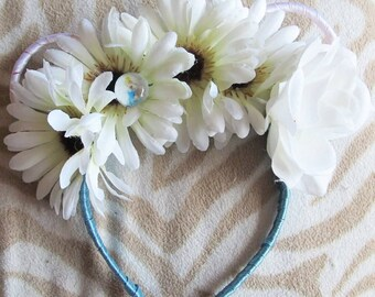 Cinderella floral Minnie mouse ears
