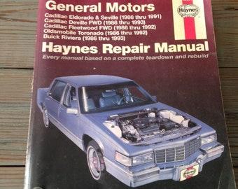 auto repair manual etsy rh etsy com 1974 Oldsmobile Cutlass 1974 Oldsmobile Toronado