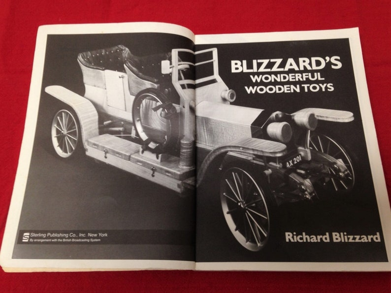 Vintage Blizzards Wonderful Wooden Toys Illustrated Guide Free Ship
