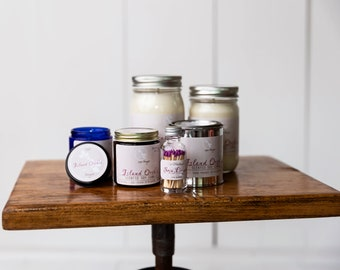 Soy Candle - Island Orchid - Spring Scents