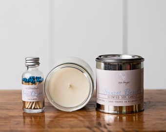 Soy Candle - Sunset Beach - Year Round Fragrance
