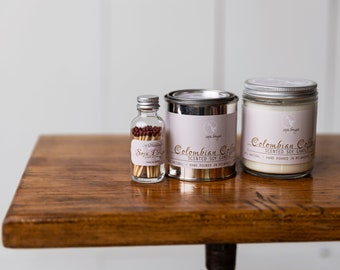 Soy Candle - Colombian Coffee - Year Round Fragrance