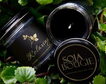 Soja Bougie Noir