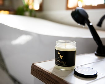 Soja Bougie Blanc - Relaxing - Luxury Pure Soy Candle