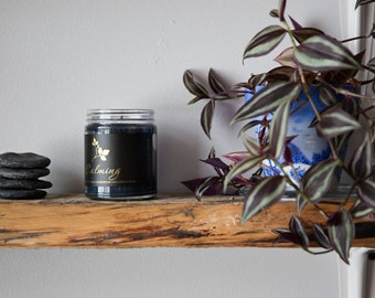 Soja Bougie Noir - Calming - Luxury Pure Soy Candle