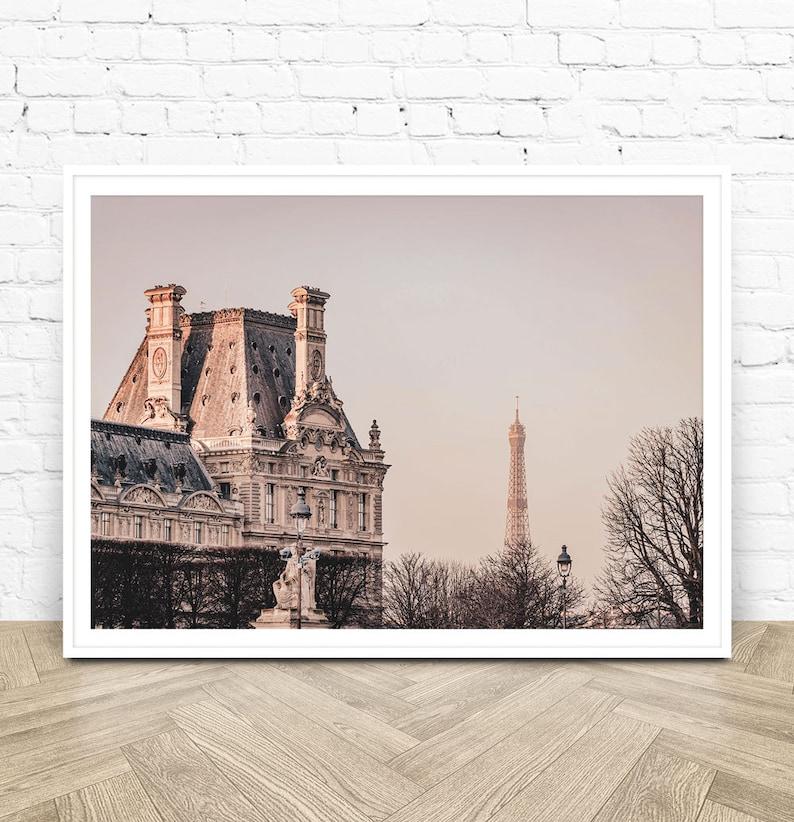 Paris Photography Print Paris Wall Print Instant Download Printable Art Eiffel Tower Poster