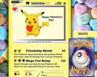 Pokemon Valentine Etsy