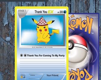 Pokemon thank you | Etsy