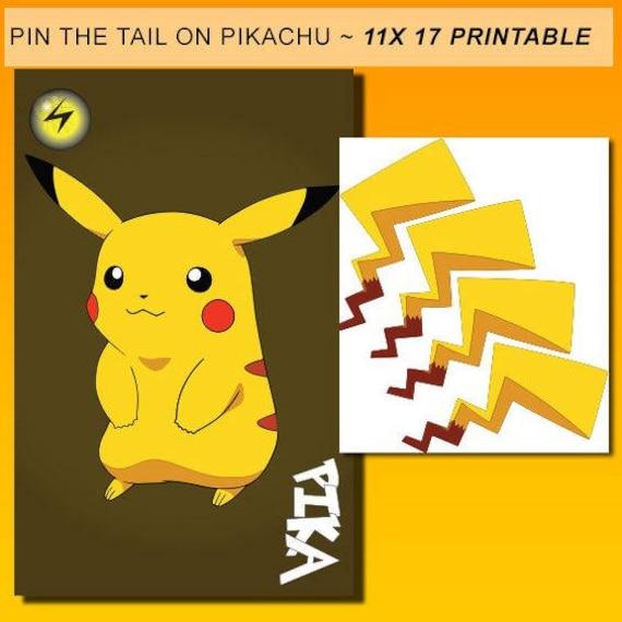 photograph about Printable Pokemon Party Games identify Pokemon, pokemon get together video games, pokemon birthday, pokemon occasion, pin the tail upon pikachu, pokemon get together activity, pin the tail pikachu, pikachu