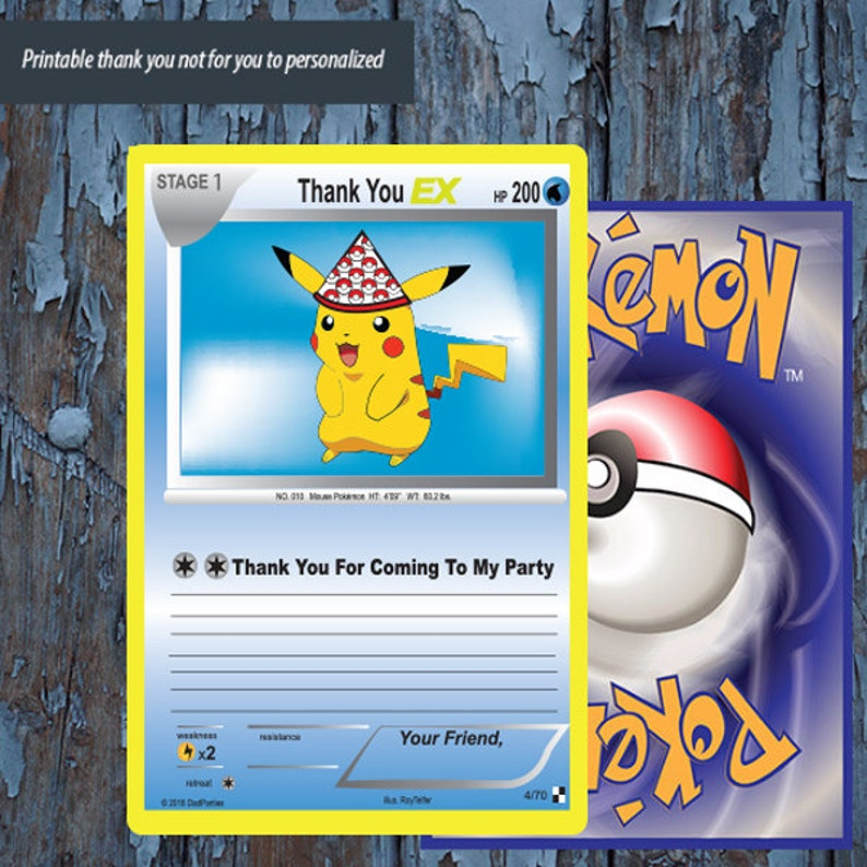 photo relating to Printable Pokemon Trading Cards identified as Pokemon,pokemon buying and selling card, Pokemon thank oneself, Pokemon card, Pokemon birthday, Pokemon Occasion, Pokemon transfer, Pikachu, Pokemon Printables,