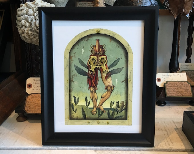 Original print from artist Pol Turgeon framed