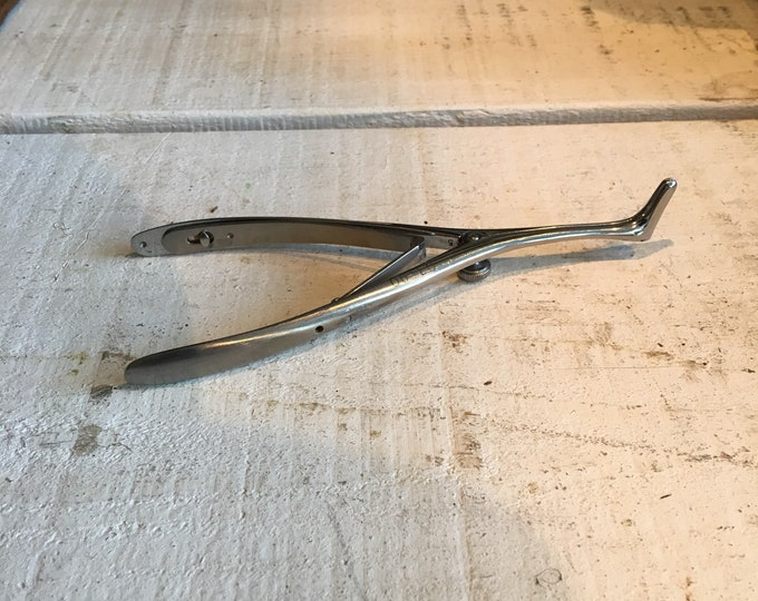 Vintage nose speculum medical instrument