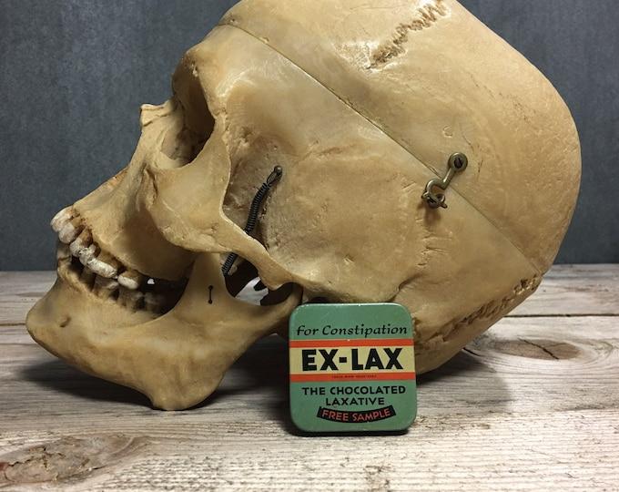Antique vintage Ex-Lax laxative tin box Circa 1930s