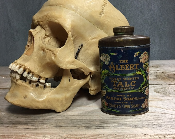 Vintage tin talc talcum powder The Albert from Montreal