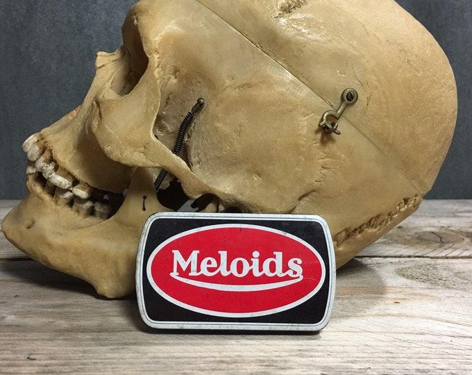 Antique vintage Meloids pastilles  tin box