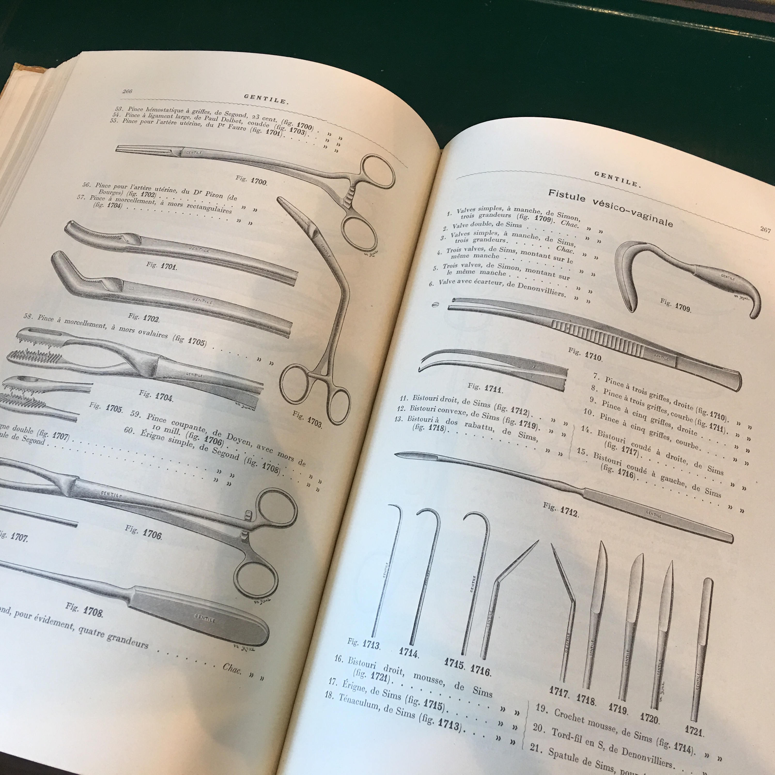 Catalog illustrated 1934 french antique surgical instruments
