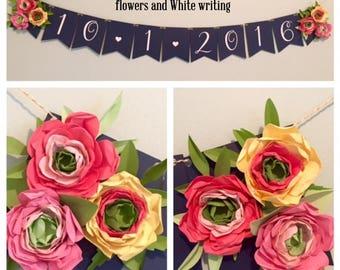 more colors custom paper flower