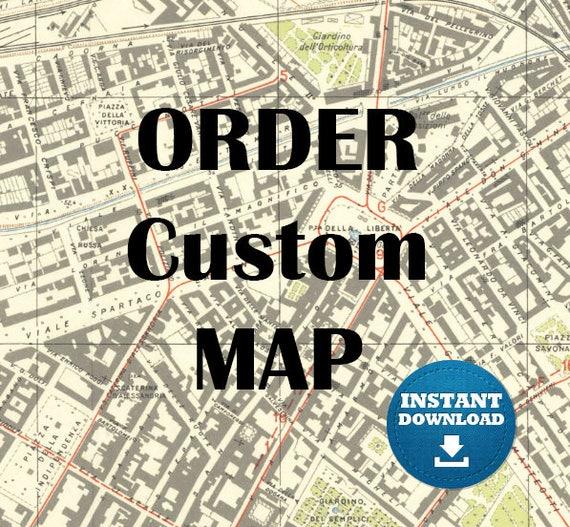 CUSTOM ORDER. Digital Topographic MAPS of Eastern Europe. Printable Map. Poland Map. Ukraine Map, Belarus