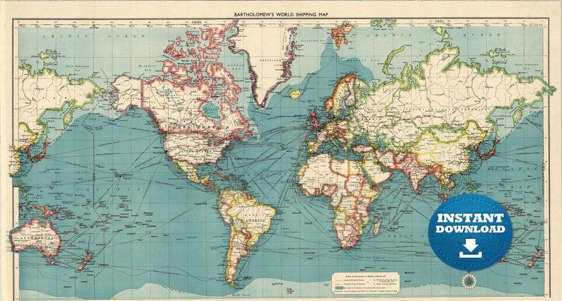 World Map Jpg High Resolution Download