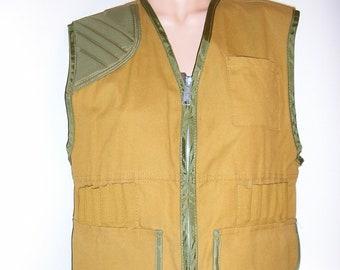 b7695effac98d Vintage 60s, Saf T Back, hunting vest, MINT, as new, medium