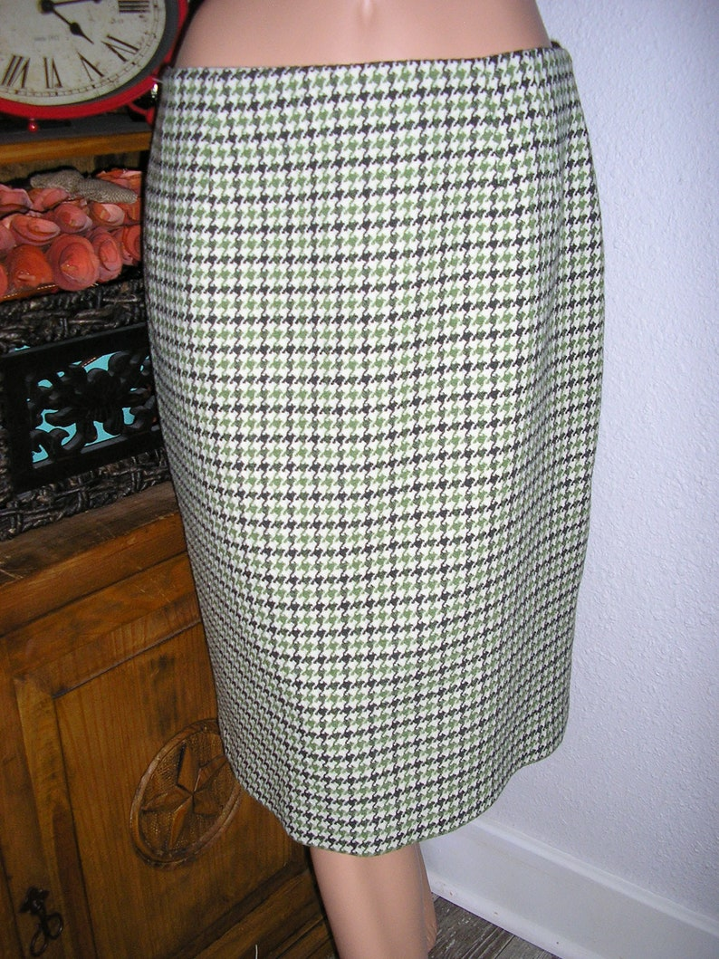 df38fd6e57 Vintage 80s Talbots herringbone tweed pencil skirt wool | Etsy