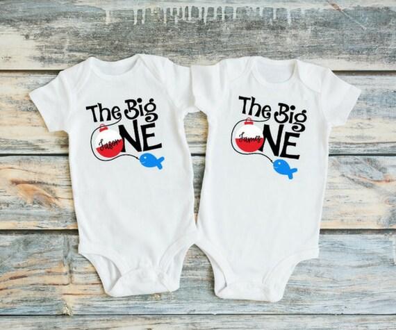 Zwei Jungen Ersten Geburtstag Outfit Twin 1 Geburtstag Etsy