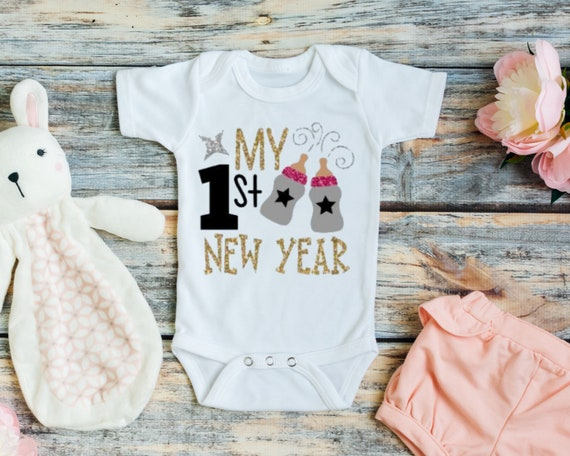 First New Year Baby Girl Outfit Baby New Year Outfit Baby Etsy