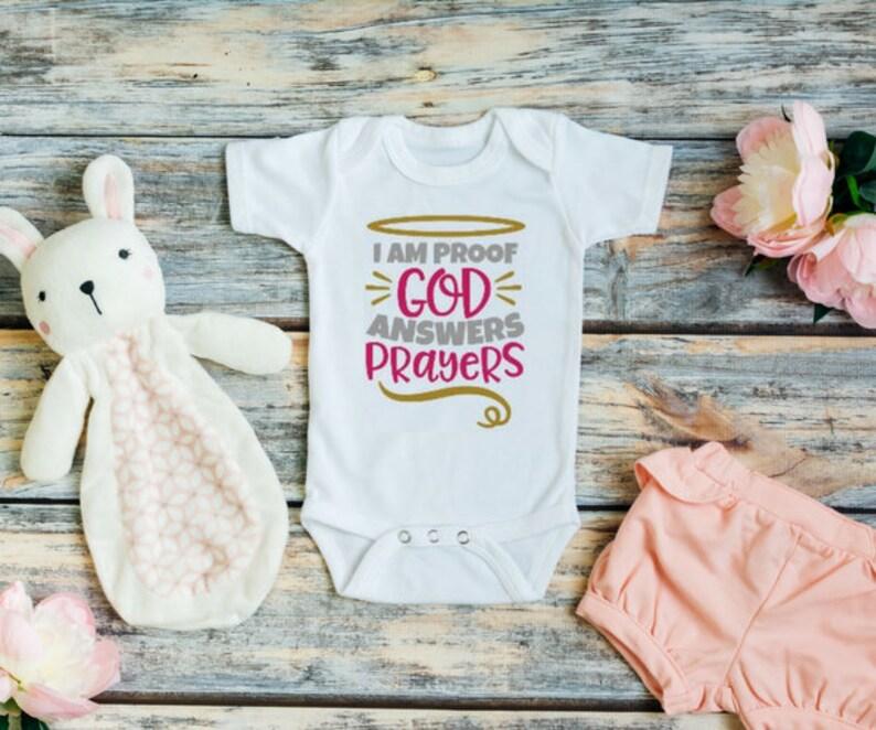1bc08f4f3547 I Am Proof God Answers Prayers Answered Prayer Newborn