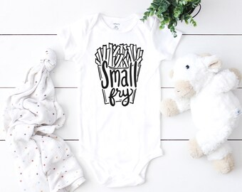 02262ef3b Small Fry Onesie® // Small Fry // Baby Shower Gift // Small Fry Bodysuit //  Baby Clothes // Boho Baby Onesie // Funny Baby Shower Gift