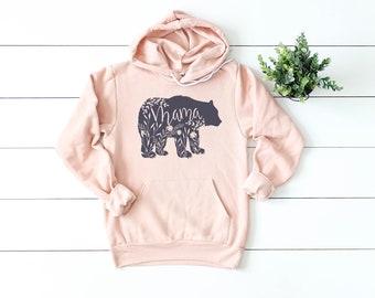 0c6687310a606 Mama Bear Sweatshirt    Floral Mama Bear Shirt    Charcoal Ink    Mom Shirt     Mom Life    Gift For Mom    Sweatshirt