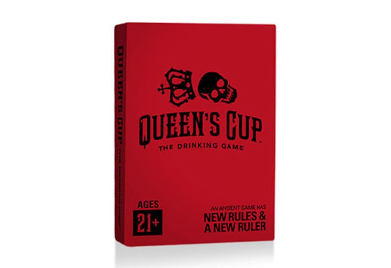 Queen's Cup: The Drinking Game Card Deck image 0