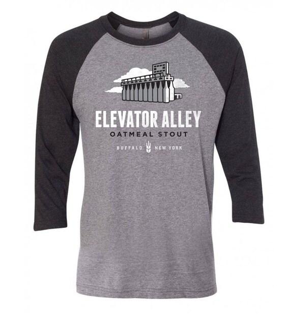 e82d3f329d6 Elevator Alley Oatmeal Stout Men s 3 4 Raglan Shirt