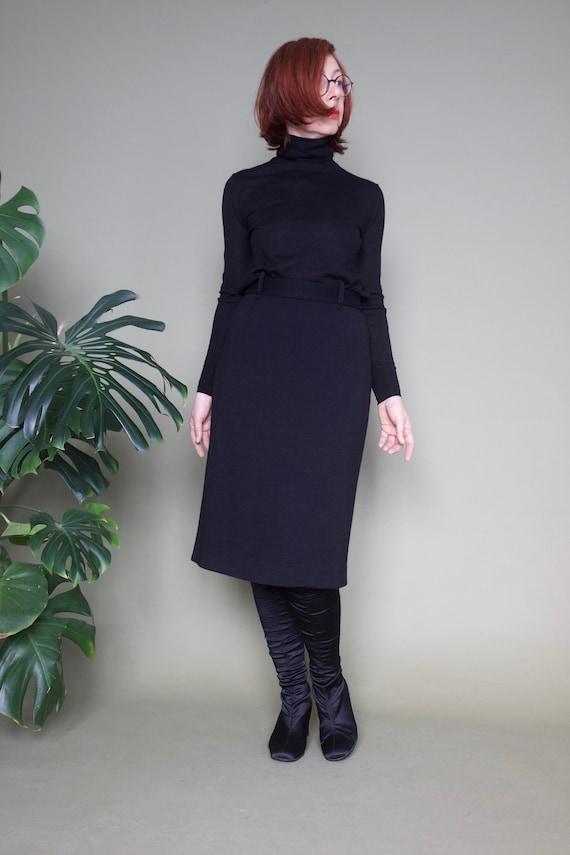 Black pencil skirt Exclusive skirt Women's skirt P