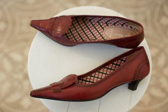 MIU MIU shoes, pointed toe shoes, miu miu pumps, … - image 2