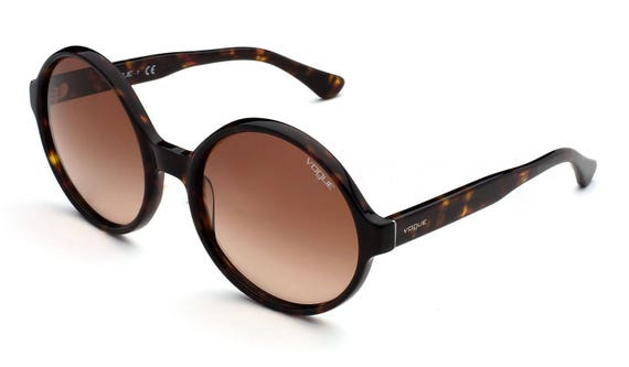 Vogue sunglasses Vintage style sunglasses Round r… - image 4