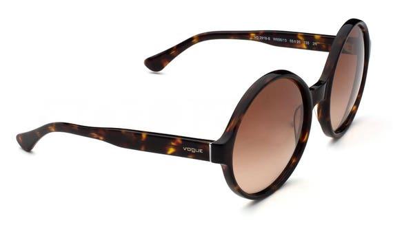 Vogue sunglasses Vintage style sunglasses Round r… - image 5