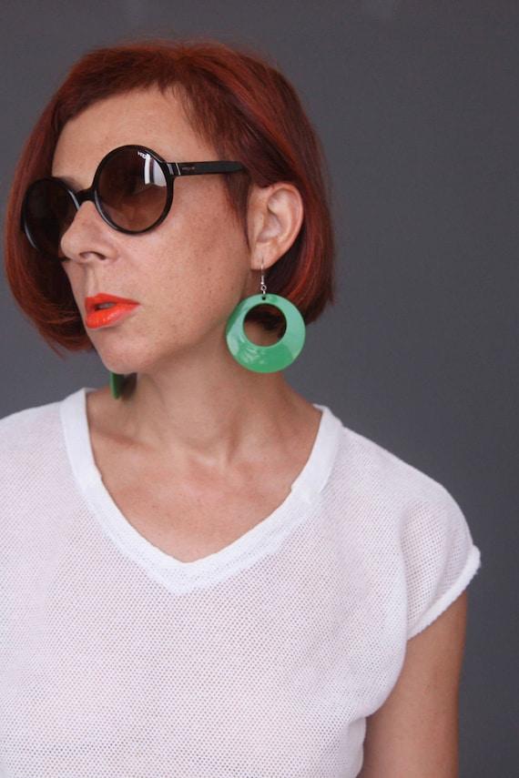 Vogue sunglasses Vintage style sunglasses Round r… - image 2