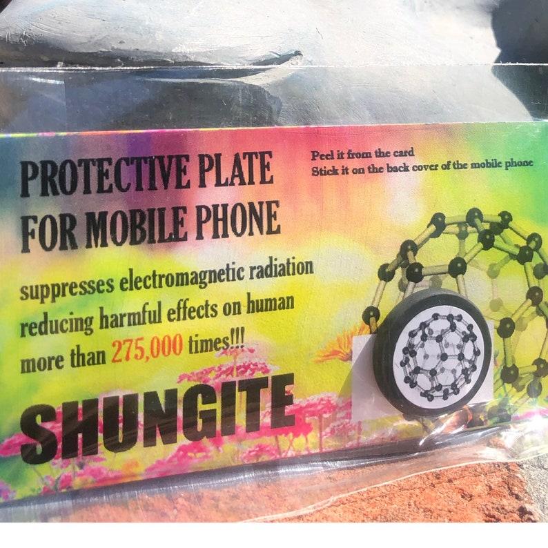 C-60 SHUNGITE phone sticker