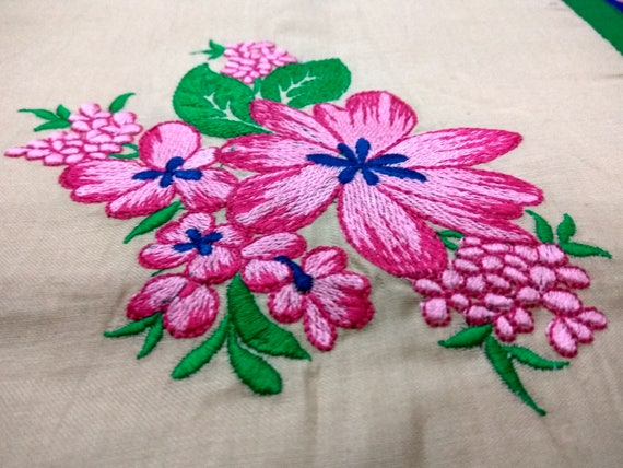 Flowers embroidery design sizes flowers machine etsy