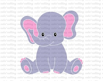 elephant template etsy