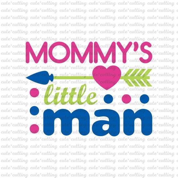 Little Man Svg Mommy S Little Man Svg Boy Svg Etsy