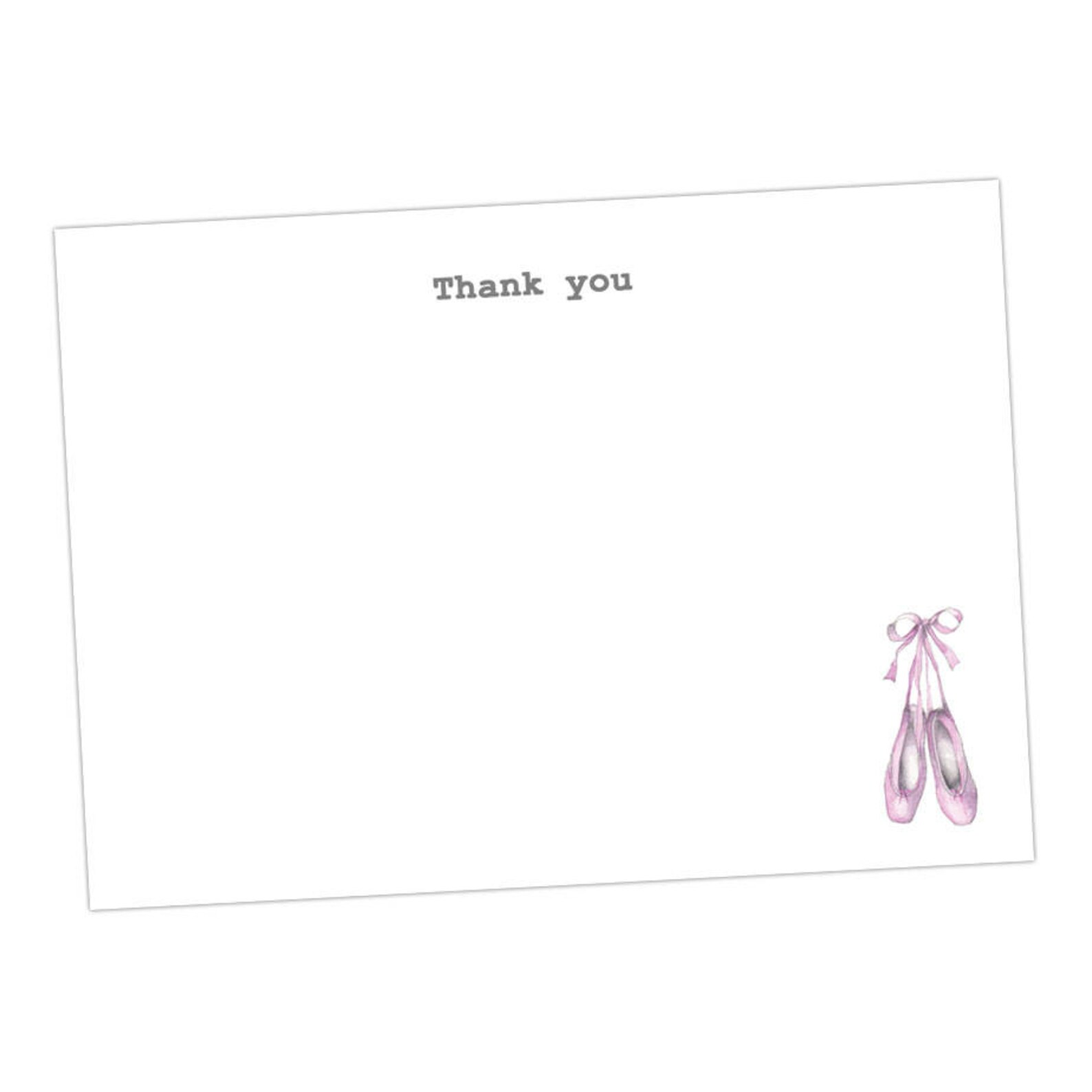 ballet postcards taken from an original watercolour / notecards / notelets / thank you cards / blank cards